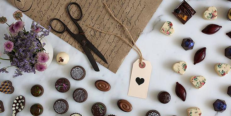 סדנאות שוקולד ב- Caja Chocolaterie